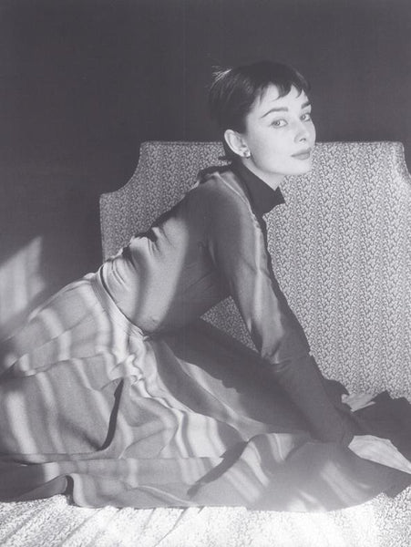 Audrey Hepburn, Kneeling on a bed (2)