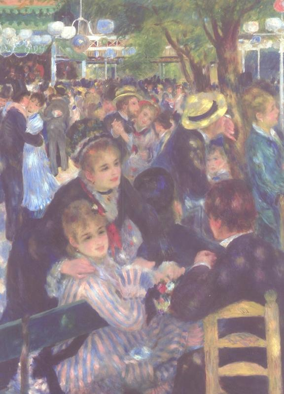 Ball at the Moulin de la Galette, Monmarte Renoir