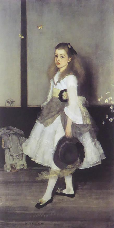 Harmony  in Grey & Green: Miss Cecily Alexander Whistler