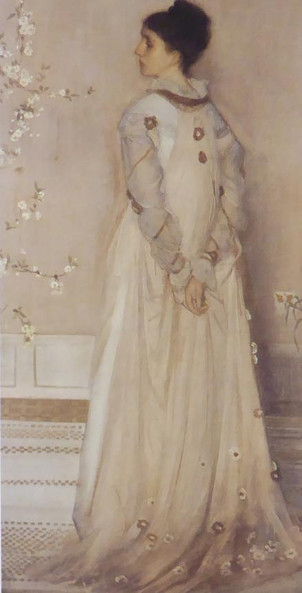 Symphony in Flesh colour & pink: Portrait of Frances Leyland Whistler