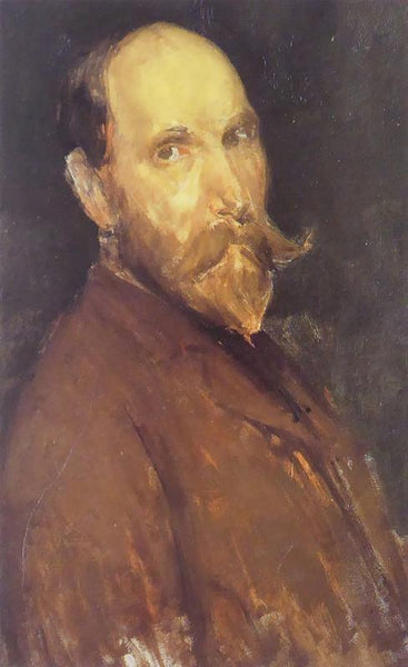 Portrait of Charles Lang Freer Whistler