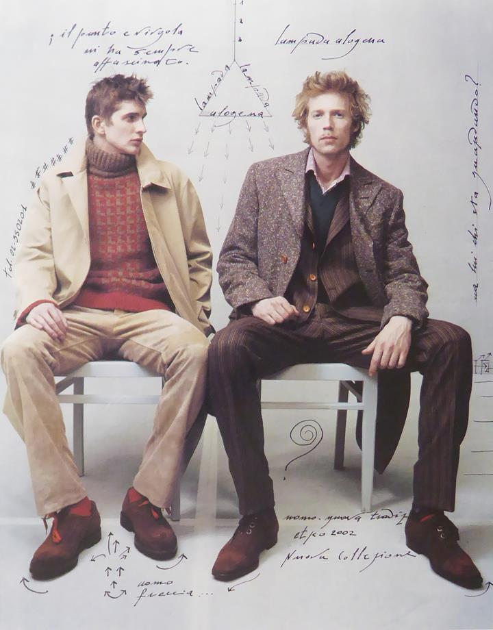 Etro 2 male models  (Advert)