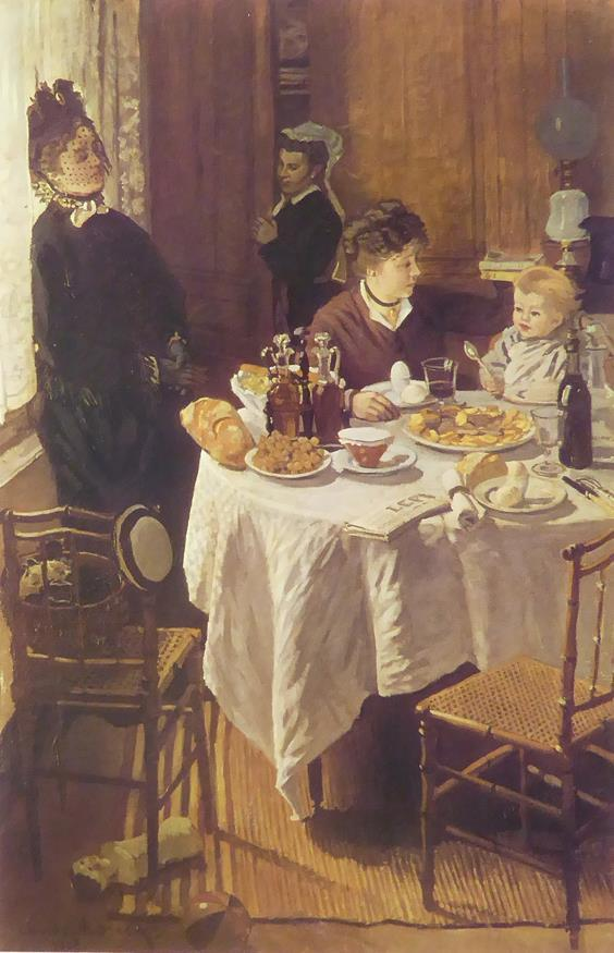 The Luncheon Monet