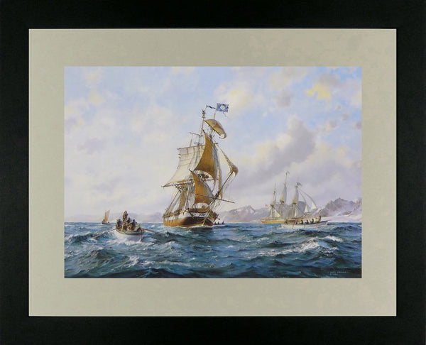 The Nantucket whaler Atlas Roy Cross
