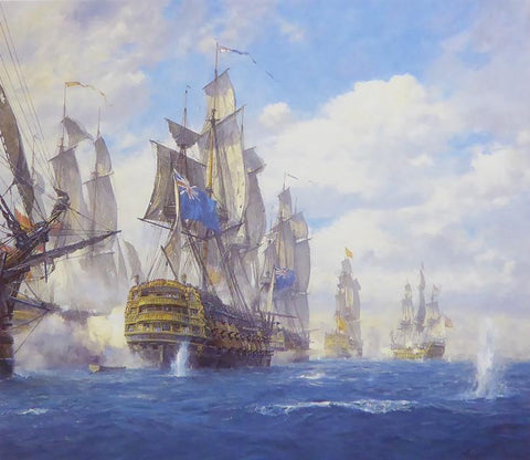Battle of St Vincent Geoff Hunt