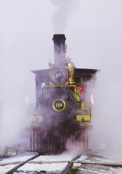 119 Steam locomotive