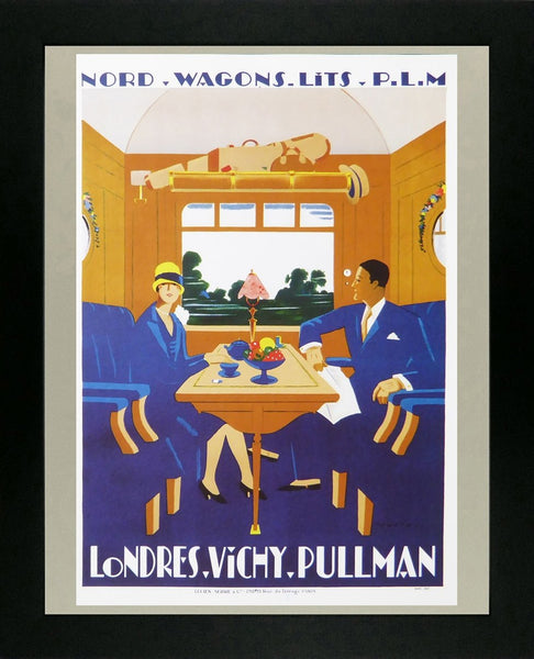 Nord Wagons Lits P.L.M Londres Vichy Pullman (Train)