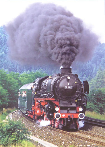 01  1100 steam locomotive (Train)