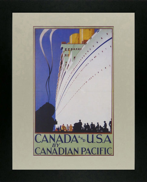 Canada & U.S.A. by Canadian Pacific (Ship)