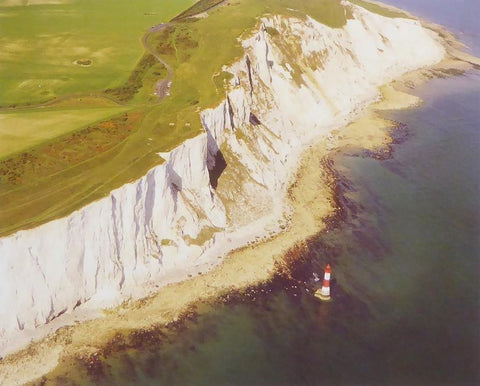 Beachy Head, East Sussex Framed Picture