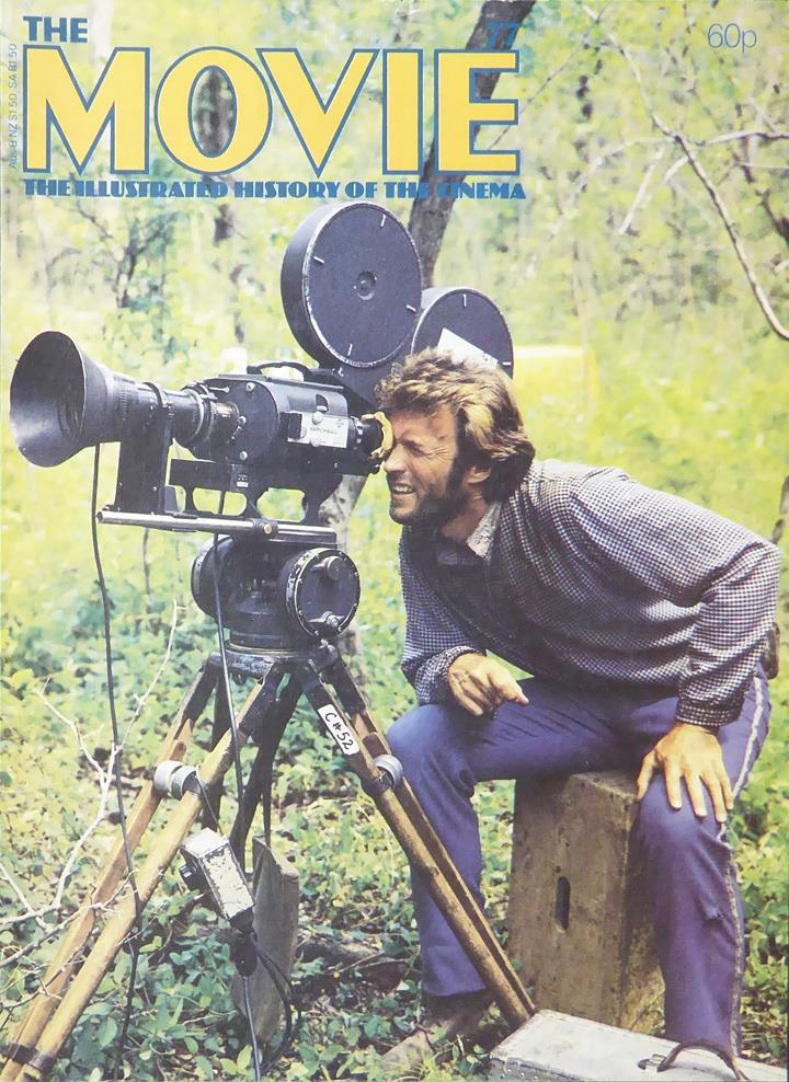 The Movie, (Original Magazine Cover)  1981 Clint Eastwood (The Beguiled)