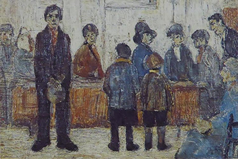 A Doctors Waiting Room Lowry