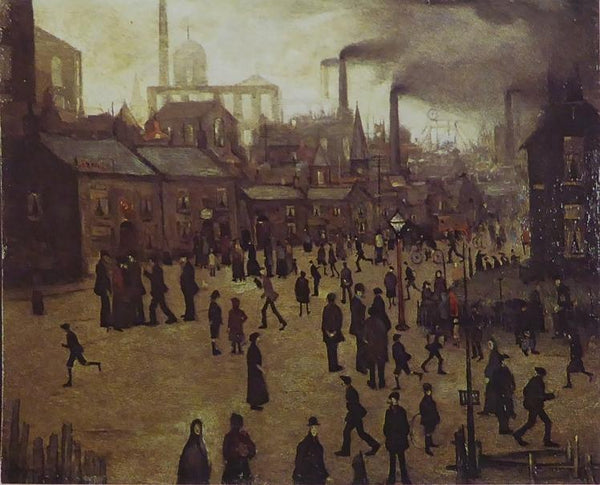 A Manufacturing Town Lowry