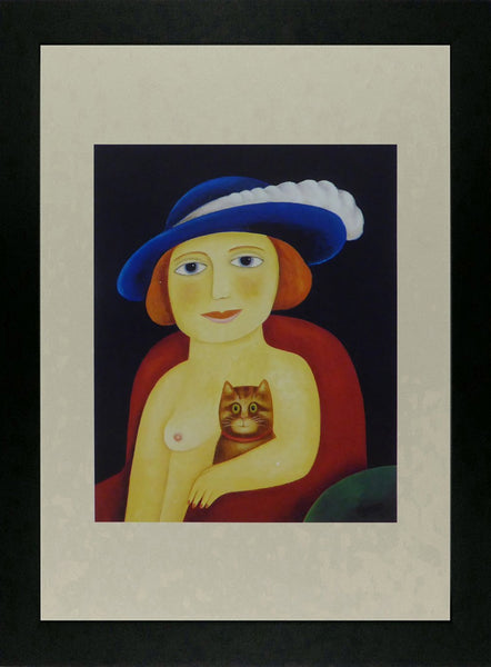 A Feather in my Hat, 1999 Caricature Nude