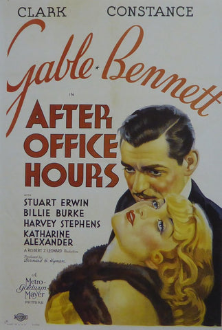 After Office Hours (1) Clark Gable Movie Poster