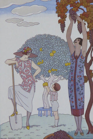 Earth, 1925 George Barbier B61