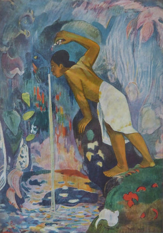Mysterious Water Paul Gauguin