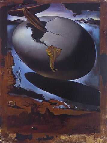 Allegory of an American Christmas Dali