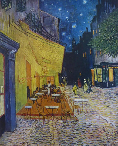 Café at Night Van Gogh