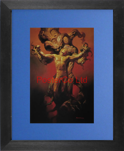"Self-Punishment - Boris Vallejo - Framed Plate - 14""H x 11""W"