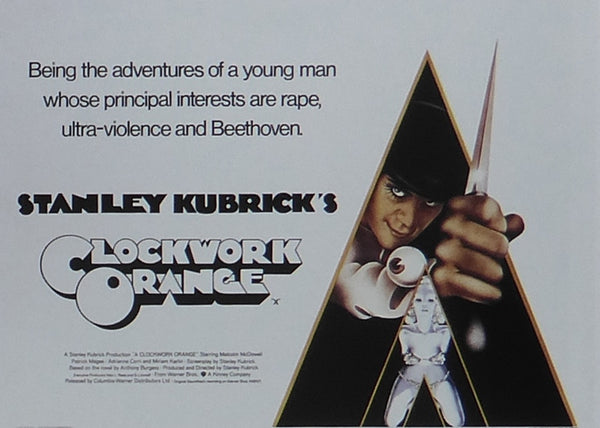 A Clockwork Orange Malcolm McDowell / Patrick Magee