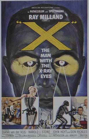 X: The Man with X Ray Eyes Roger Corman