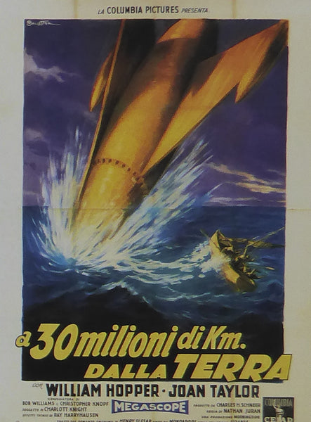 20 Million Miles to Earth William Hopper (Italian)