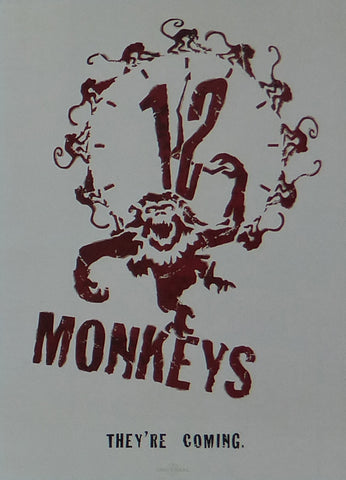 12 Monkeys Bruce Willis / Brad Pitt