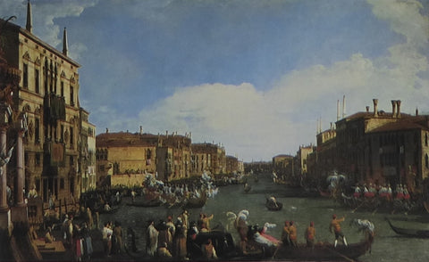 A Regatta on the Grand Canal Cannaletto