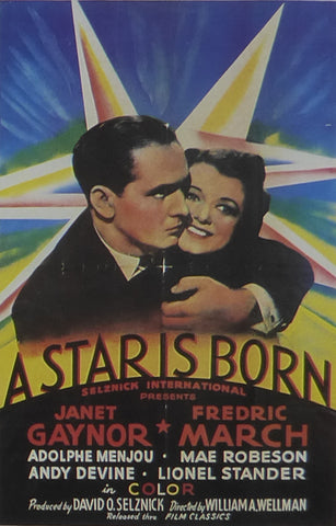 A Star is Born 1937 Movie Poster