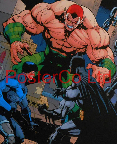 "Amazo (Batman / Justice League Villain) - Framed Print - 16""H x 12""W"