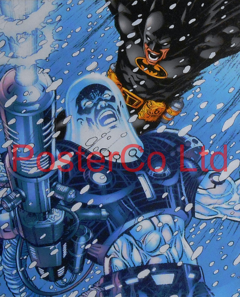 "Mr Freeze (Batman Villain) - Framed Print - 16""H x 12""W"