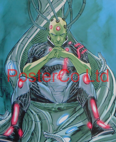 "Brainiac (Superman Villain) - Framed Print - 16""H x 12""W"
