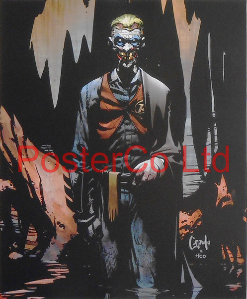 "The Joker - Death of the Family (Batman Villain) - Framed Print - 16""H x 12""W"
