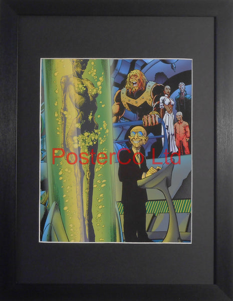 "Unknown DC Comic Villain - Framed Print - 16""H x 12""W"