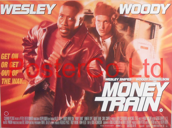 "Money Train - Lobby Poster - Framed 12""H x 16""W"