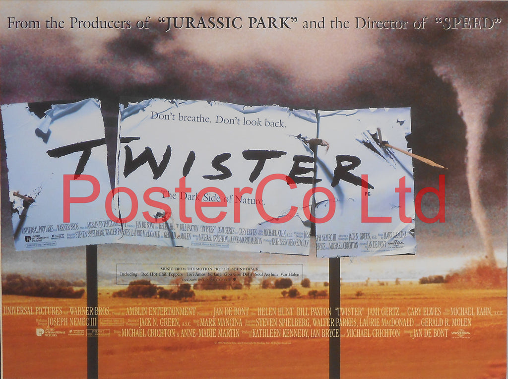 "Twister - Lobby Poster - Framed 12""H x 16""W"