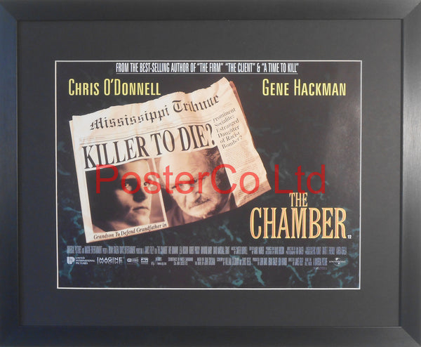 "The Chamber - Lobby Poster - Framed 12""H x 16""W"