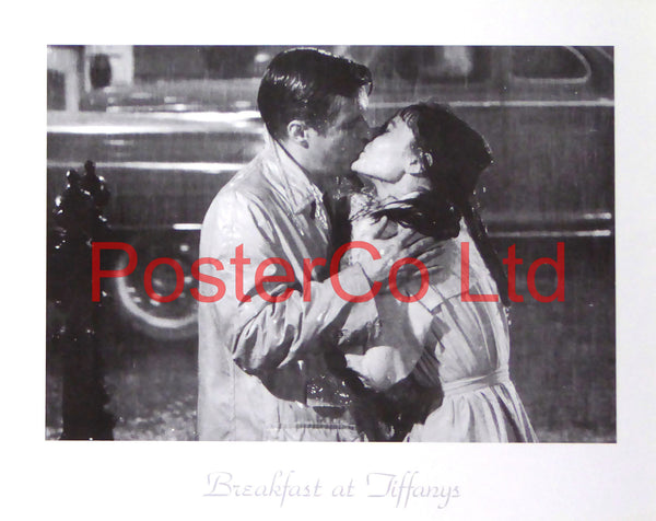 "Breakfast at Tiffanys Scene - Framed Poster 12""H x 16""W"