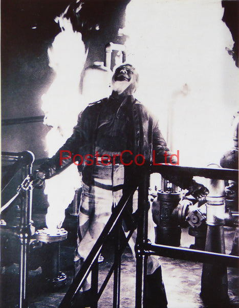 "Jimmy Cagney Ending Scene from White Heat  - Framed Picture 16""H x 12""W"