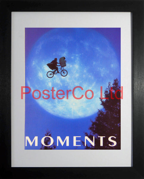 "Cover from Moments mag ET and Moon shot  - Framed 16""H x 12""W"