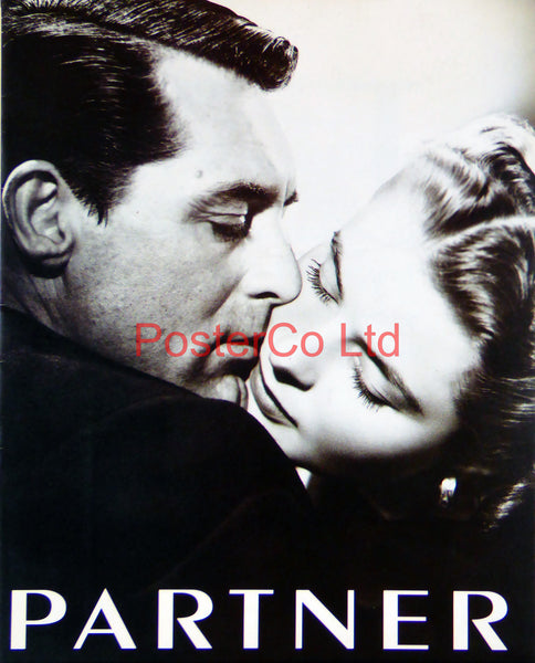 "Cary Grant and Ingrid Bergman ""Notorious"" Partner cover (Film Magazine)  - Framed 16""H x 12""W"