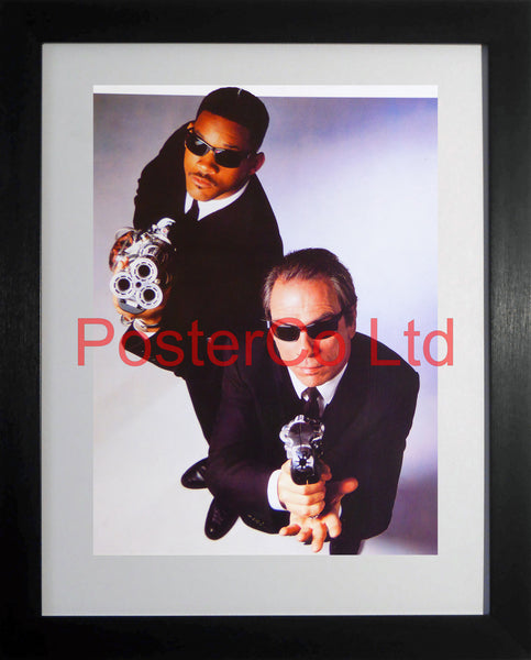 "Men in Black - Promo  - Framed print 16""H x 12""W"