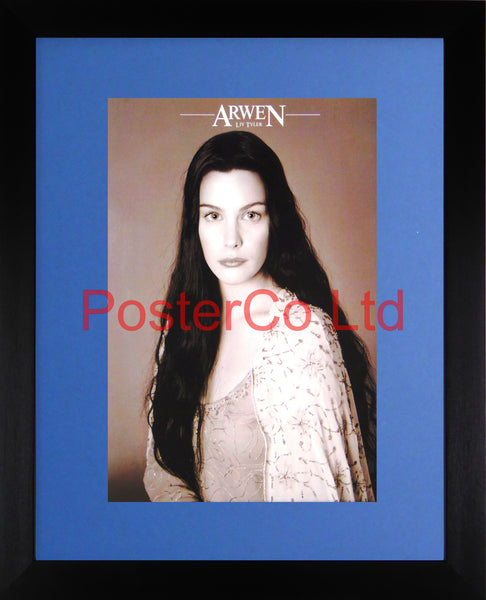 "Lord of the Rings - Arwen - Liv Tyler - Framed print 16""H x 12""W"