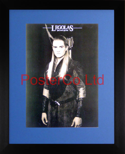 "Lord of the Rings - Legolas - Orlando Bloom - Framed print 16""H x 12""W"