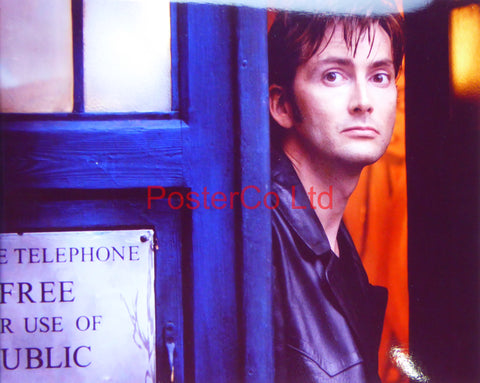 "Dr Who - David Tennant- Framed print 12""H x 16""W"