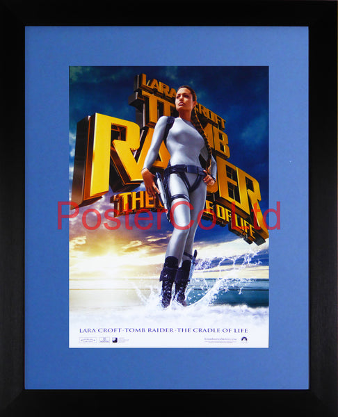 "Lara Croft - Tomb Raider The Cradle of Life - Framed print 16""H x 12""W"