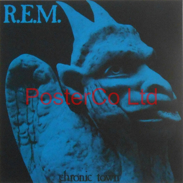 "R.E.M - Chronic Town (Album Cover Art) - Framed Print - 16""H x 16""W"