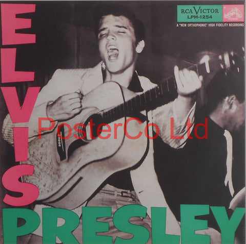 "Elvis Presley - Shake, Rattle, and Roll (Album Cover Art) - Framed Print - 16""H x 16""W"