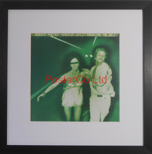 "Robert Palmer - Sneakin Sally Through The Alley (Album Cover Art) - Framed Print - 16""H x 16""W"